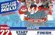 Ngonthel Bareng Madura-Surabaya Bersama Tiga Pilar