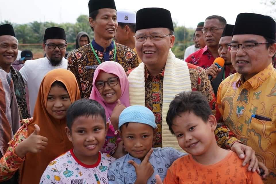 Gubernur Rohidin Apresiasi Al Hasanah Mengembangkan Dunia Pendidikan Islam