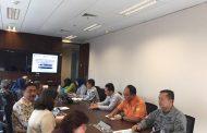 Direktur Strategi Bakamla RI/IDNCG Hadir Pembahasan Pencegahan Peristiwa Tenggelam
