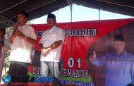 Warga Desa Panaguan Banjiri Istighosah, Cakades 01 Sufyan Hermanto