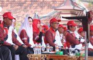 Bupati Pamekasan Sambut Gubernur Jatim, Pimpin Puncak Haornas Ke-36 di Pamekasan