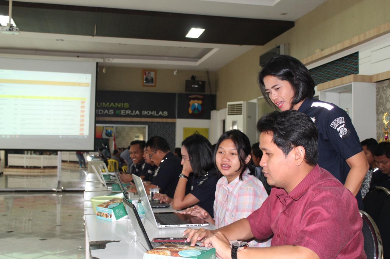 Program SP2HP Online, di Luncurkan Polresta Sidoarjo