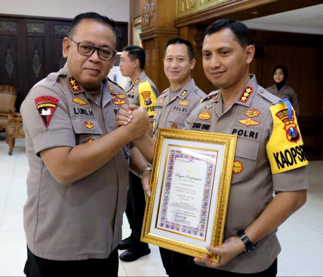 Kapolresta Sidoarjo, Raih Polisi Teladan 2019
