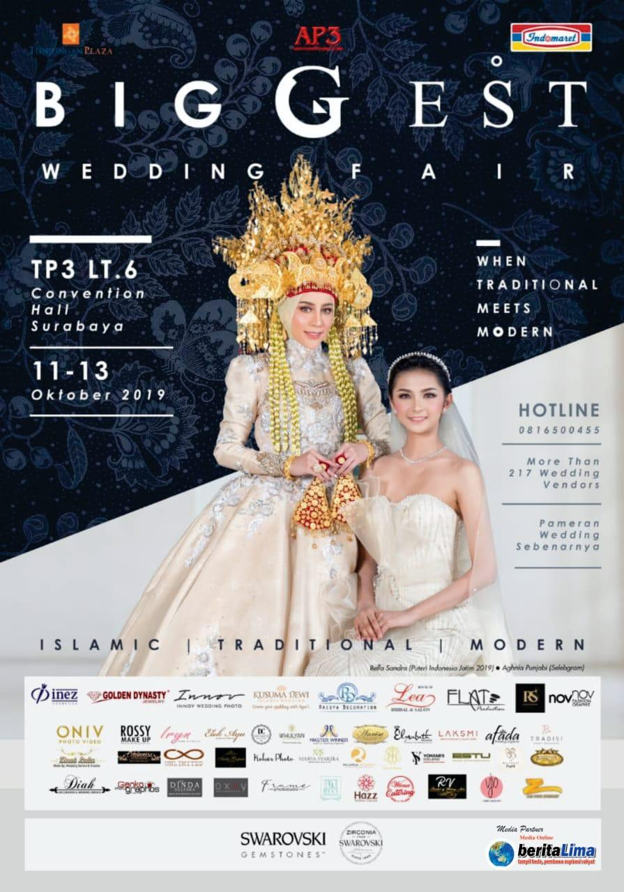 AP3 Siap Kembali Gelar Biggest Wedding Fair di Convention Hall TP 3 Surabaya