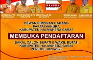 DPC Hanura Halbar Buka Pendaftaran Balon Bupati dan Wabup