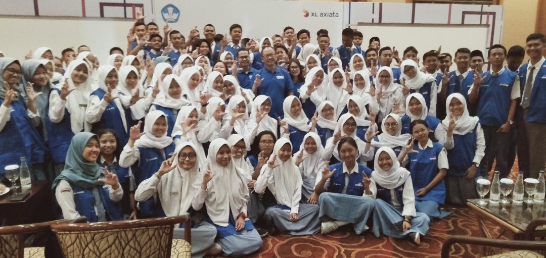 """Seratus Pelajar Jatim Ikut """"XL Axiata Youth Leadership Camp 2019"""" di Surabaya"""