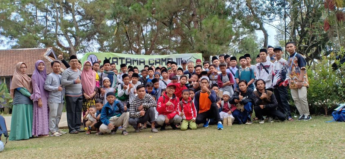Yatama Camp III 2019 Bersama Ponpes Anwarul Qur'an di Cikopo Cisarua Bogor