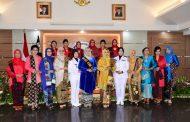 Ketua Korcab V DJA II Hadiri Pelepasan dan Pengukuhan Ibu Asuh Kowal Daerah II