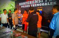 Terlibat Jaringan Okerbaya Dan Narkoba Antar Kota, Tiga Pengamen Di Trenggalek Terancam 20 Tahun Penjara