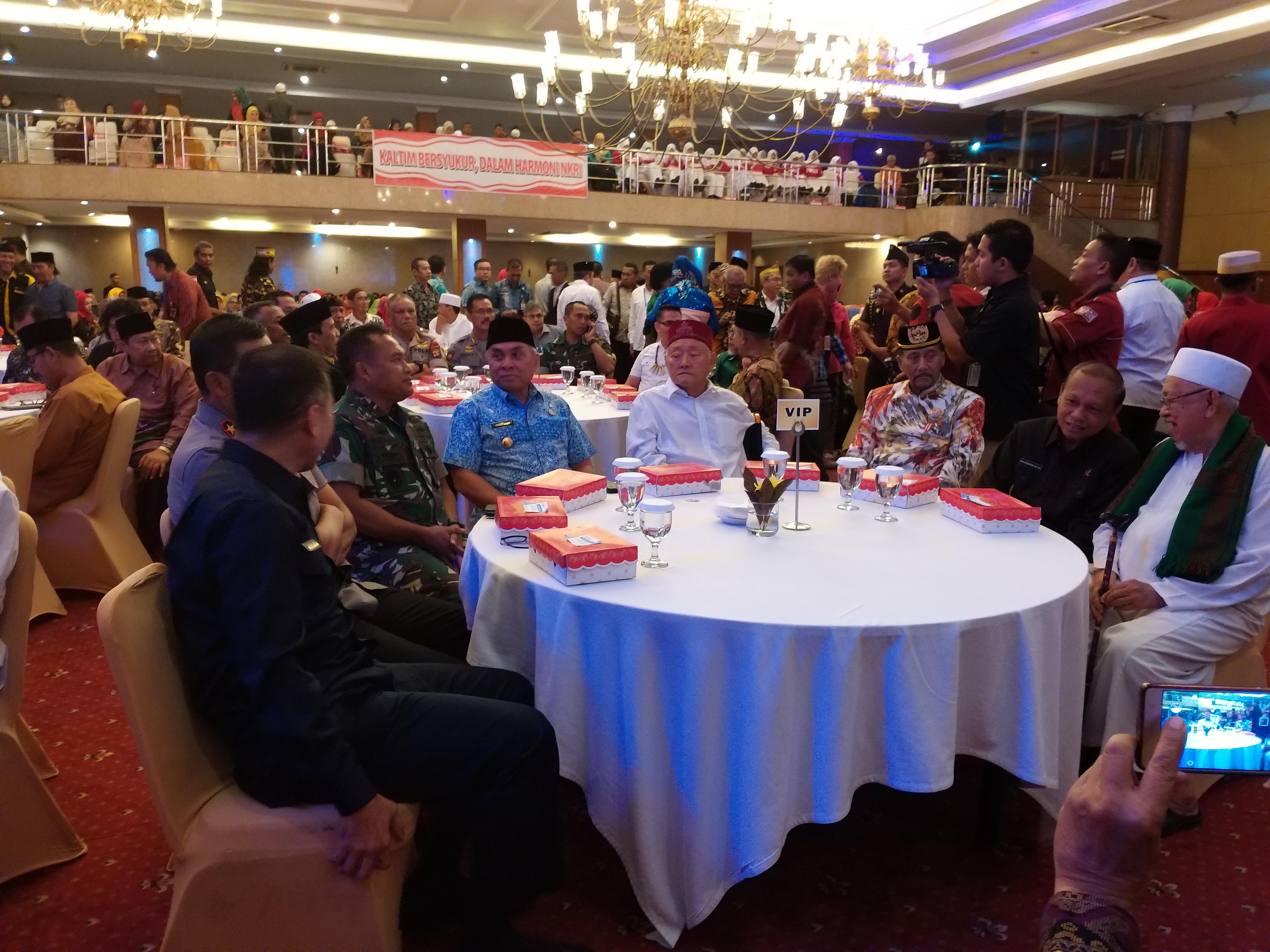 Muspida Kaltim Hadiri Syukuran Dilantiknya Presiden di Hotel Bumi Senyiur
