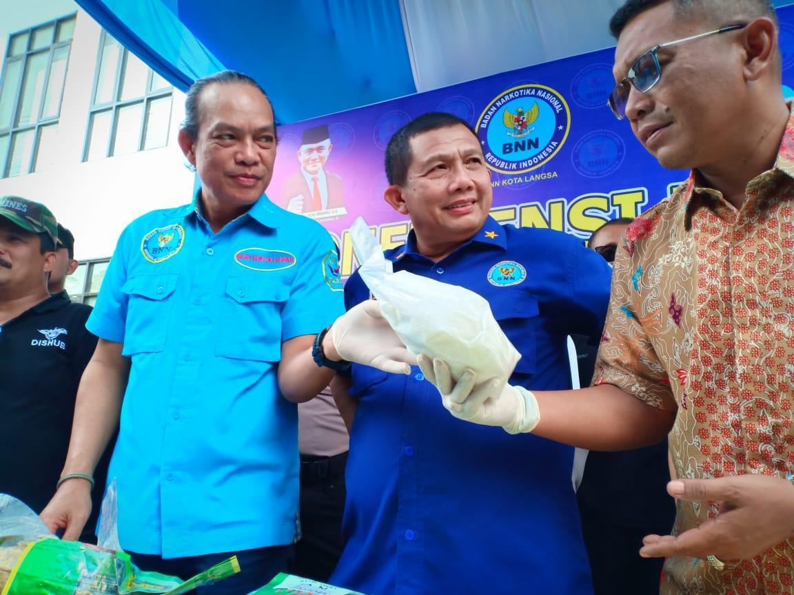 48 Kg Narkotika Masuk Aceh, ASN Sipir LP Terlibat