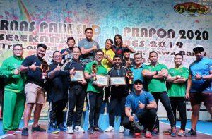 Atlet Angkat Besi Surabaya Juara Satu Pra PON Bandung