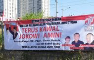 Jelang Pelantikan Presiden Wakil Presiden, Bara JP Pasang Ribuan Spanduk Di Berbagai Kota