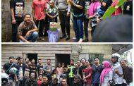 Silaturahmi Bersama Komunitas, Polres Sergai Berikan Sembako Kepada Warga Kurang Mampu