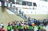 62 Orang Pengungsi Wamena Asal Lumajang Tiba Di Tanjung Perak