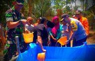 Kemarau Panjang Landa Trenggalek, Forkopimda Turun Langsung Distribusikan Air Bersih