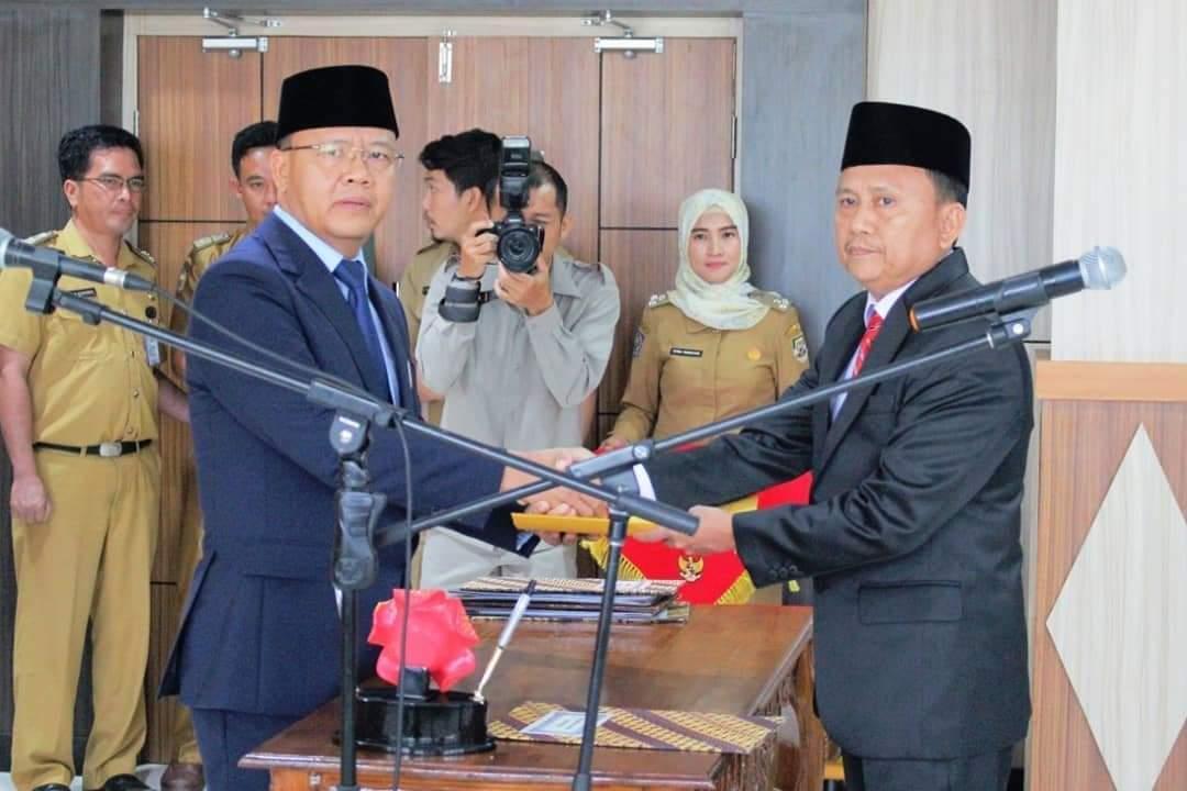 Gubernur Bengkulu Lantik Penjabat Sekda