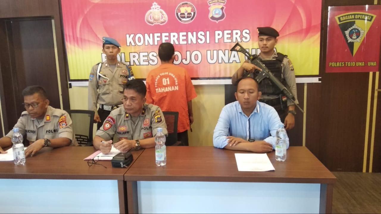 Honorer Pelaku Ilegal Loging di Ampana Diringkus Polisi