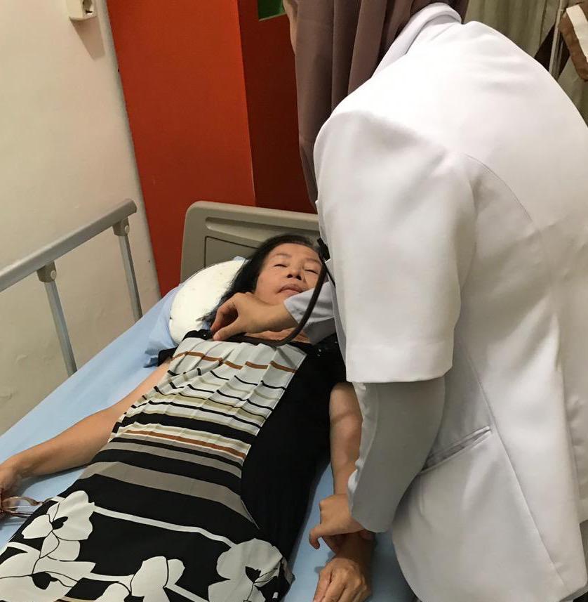 Kristin Pemilik CV Bintang Terang Dilarikan Ke Rumah Sakit