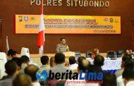 19 Desa Berpotensi Sangat Rawan, 3.344 Personil Gabungan Siapkan Amankan Pilkades Serentak di Situbondo