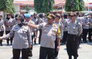 Ratusan Personil Polres Sumenep Amankan Unras Pilkades