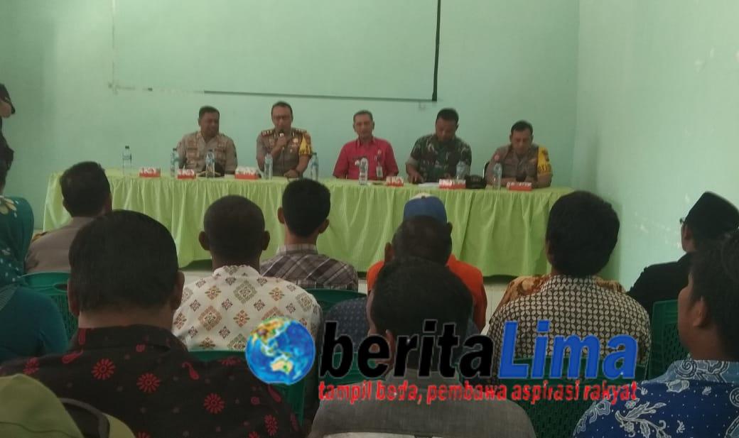 Kapolres Silaturahim Dengan Cakades   di Daerah Dianggap Sangat Rawan