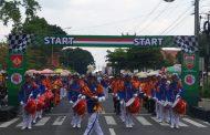 Upacara dan Lomba Drum Band Se-Jateng Warnai Peringatan HUT TNI Ke-74 Kodim Wonosobo