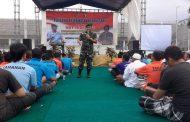 Warga Binaan Lapas Dapat Pembekalan Wasbang Dari Kodim 0825 Banyuwangi