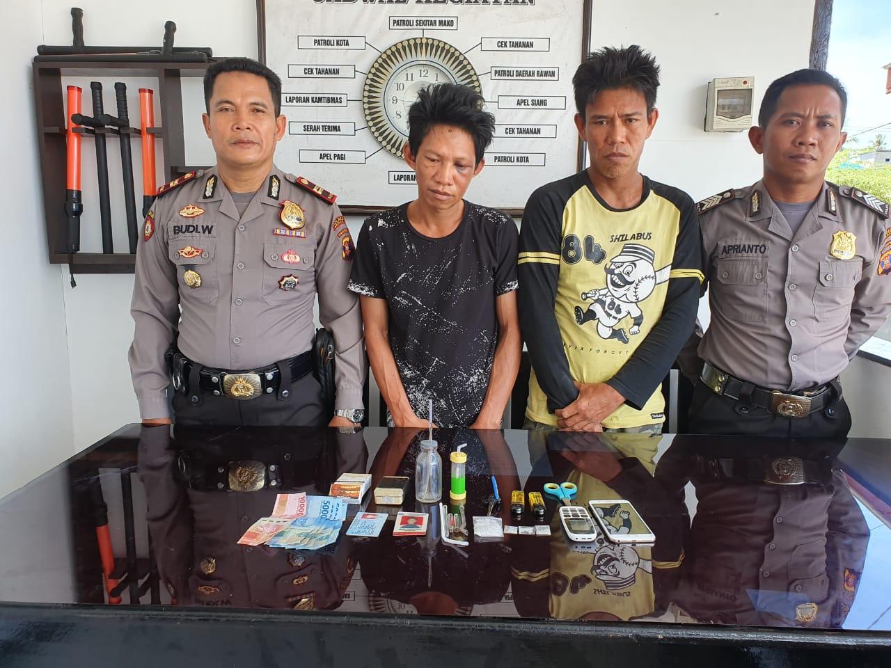 Pengedar Dan Pemakai Shabu Berhasil Dibekuk Polisi