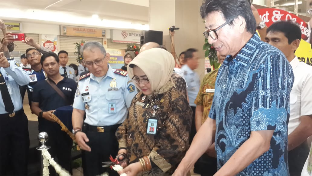 Imigrasi Surabaya Resmikan Upl Di BG Junction Surabaya