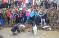 PLT Bupati Lampung Utara Hadiri Pestival Ngubek Kali