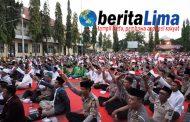 Jelang Pelantikan Presiden dan Pilkades Serentak, TNI POLRI  dan Mahasiswa Milenial Gelar Istighosah Kebangsaan