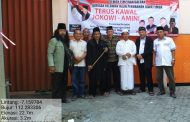 Jelang Pelantikan Jokowi-Ma'ruf Amin, BaraJP Jatim Pasang Spanduk