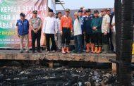 Walikota Palembang Tinjau Lokasi Kebakaran Karang Anyar