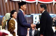Presiden Jokowi Sampaikan Ucapan Terima Kasih atas Pelantikan yang Berjalan Khidmat dan Sederhana