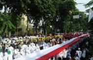 HSN 2019 di Sidoarjo, Parade Kirab Bendera Merah Putih 1000 Meter