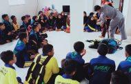 SPKKL Bakamla RI/IDNCG Sambas, Sambut Kedatangan Siswa/i Pramuka