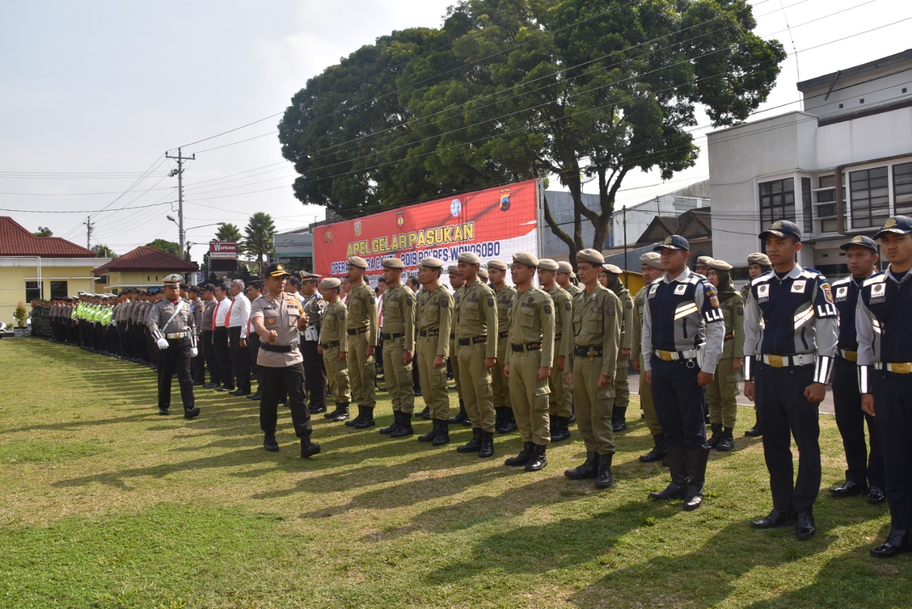 Polres Wonosobo Gelar Pasukan Operasi Zebra Candi 2019