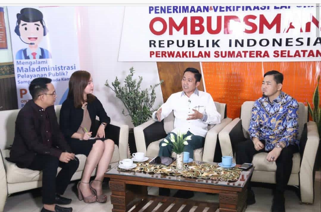 Sekda Kota Palembang Ratu Dewa Dalam Dialog Potret Pelayanan Publik