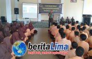 Korem 162WB Gelar Sosialisasi Pembinaan Wawasan Kebangsaan Siswa SMAN 1 Selong