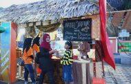 Jamur Crispy WMS Pada Sumenep Heritage Culinary Festival 2019 di Serbu Pengunjung