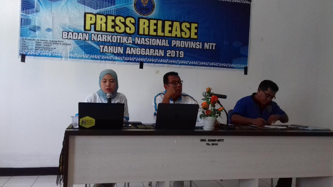 Bidang P2M BNN NTT Sebut Tujuh Kawasan Rawan Narkoba