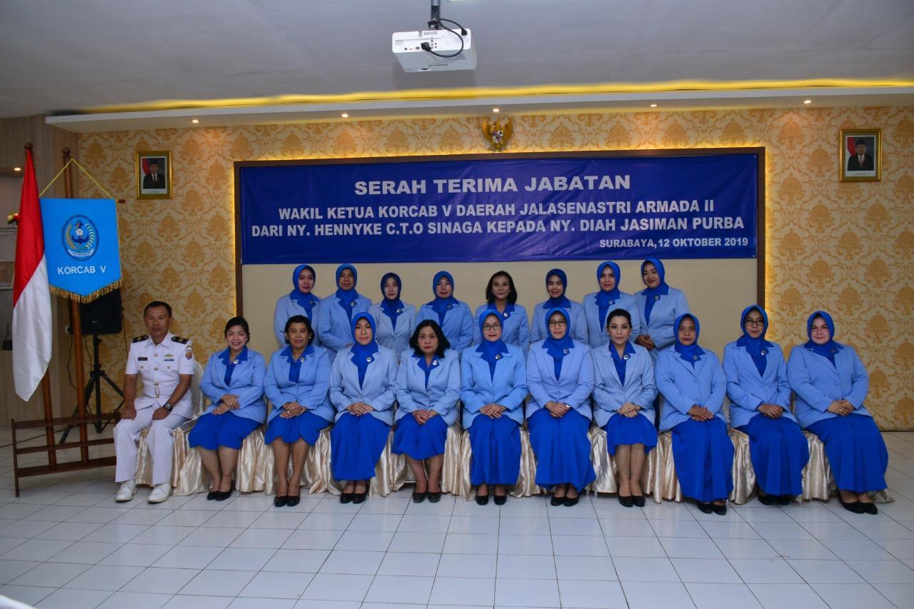 Ketua Korcab V DJA II Pimpin Sertijab Wakil Ketua Korcab V