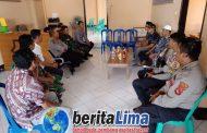 Kapolres KSB Silaturahmi Dengan Calon Kades Mujahidin Brang Ene