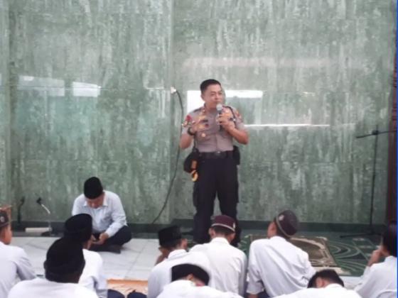 Kapolsek Sidoarjo Kota, Rangkul Pelajar Perangi Narkoba dan Berita Hoax