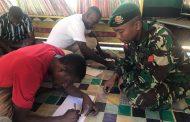 Dukung Putra Daerah Jadi Prajurit TNI, Satgas Yonif 411 Kostrad Tempa 9 Pemuda Suku Kanum
