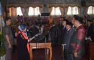 Pelantikan ROMLI Menjadi Ketua DPRD Lampura 2019-2024