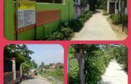 Banjarejo Manfaatkan DD Untuk Pembangunan Jalan Rabat