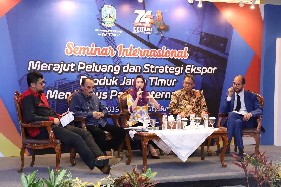 Arumi Harap Jatim Fair Mampu Temukan Pelaku UMKM dengan Pembeli Luar Negeri
