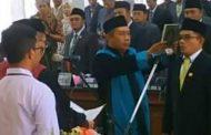 Lantik Dan Diambil Sumpah, Fathorrahman Sebagai Ketua DPRD di Pamekasan